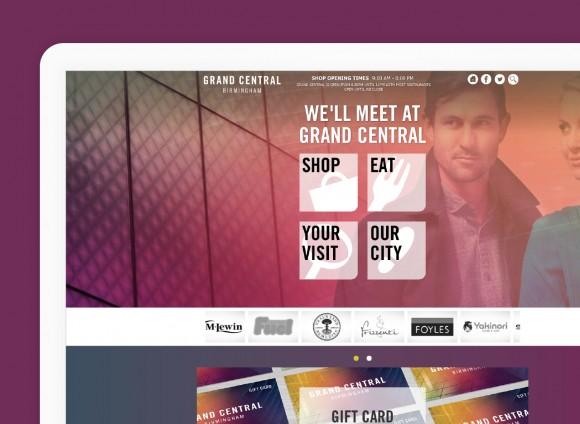 Grand Central Birmingham, Digital