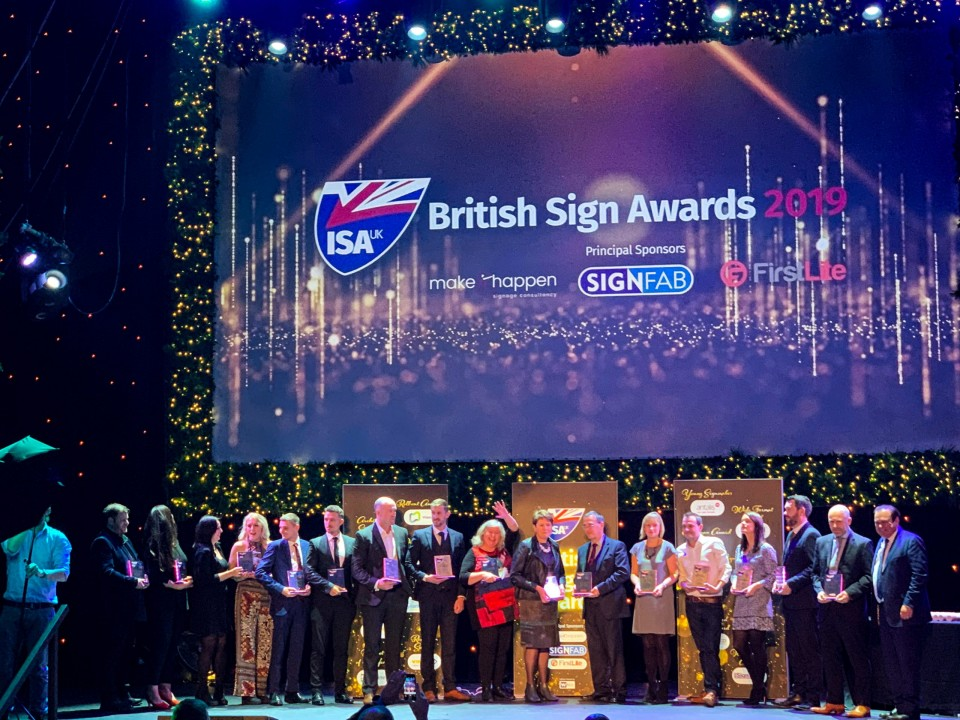 British Sign Awards 2019